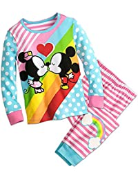 Mickey and Minnie Mouse Kiss PJ PALS Pajamas