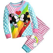 Disney Mickey and Minnie Mouse Kiss PJ PALS Pajamas
