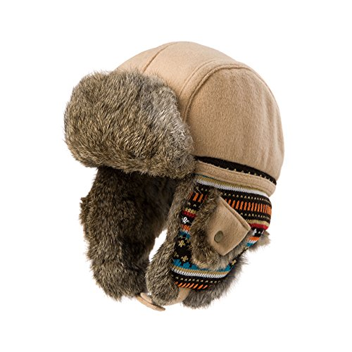 Woolen cap of Lei Feng/Fashion autumn winter ski hat/thick warm winter hat-A One Size