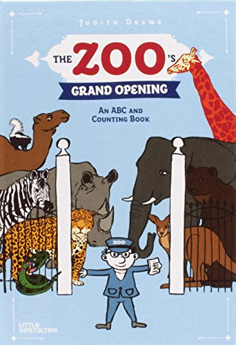 The Zoo's Grand Opening: An ABC and Counting (Kindergarten Halloween Word Problems)