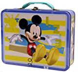 Mickey Mouse Large Tin Box Carry All, Health Care Stuffs