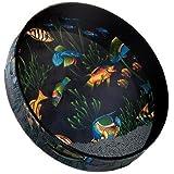 """Remo Ocean Drum - Fish Graphic, 12"""""""