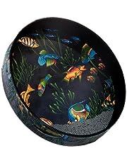 """Remo OCEAN DRUM®, 22"""" Diameter, 2 1/2"""" Depth, Fish Graphic"""