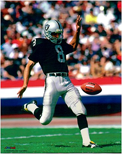Ray Guy Oakland Raiders Unsigned Licensed Football - Photo Lab Rays