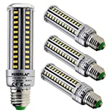 HUIERLAI 4-Pack 15W Super Bright LED Corn Bulb ,Residential and Commercial ...