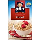 Quaker Oats Instant Oatmeal - Original - Packet - 11.80 Oz - 12 / Box (Pack of 36)