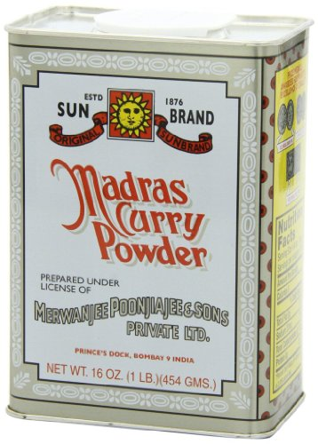 - Sun Brand Madras Curry Powder, 1 Pound
