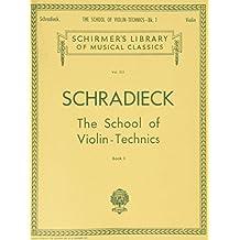 Music Schradieck School of Violin Technique 1