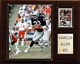 NFL Marcus Allen Oakland Raiders Player Plaque