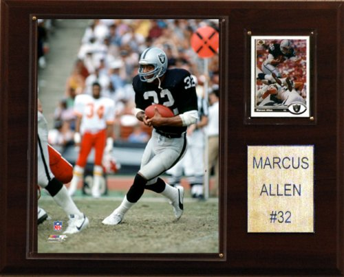 NFL Marcus Allen Oakland Raiders Player Plaque