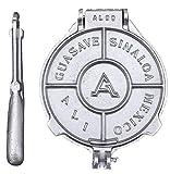 Tortilla Press Aluminum Cast 8 inch Mexican Made Guasave Sinaloa