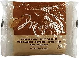 Miracle Noodle Miracle Rice Gluten Free Shirataki Rice -- 6 x 8 oz