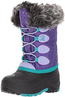 Kamik Kids' Snowgypsy Snow Boot, Purple, 9 Medium US Toddler