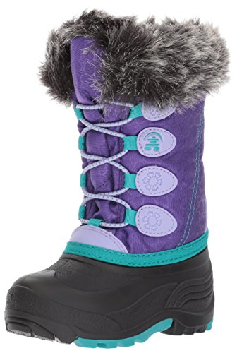 (Kamik Kids' Snowgypsy Snow Boot, Purple, 9 Medium US Toddler)
