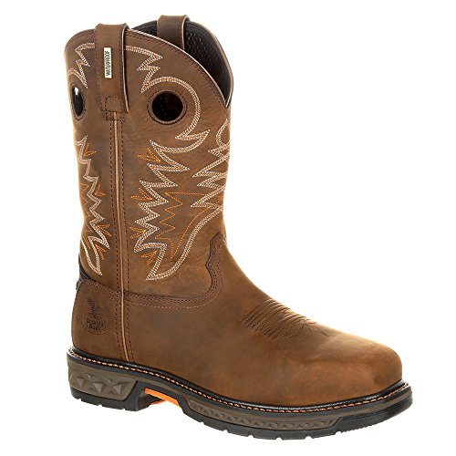 Georgia Boot Work Men Carbo-Tec Waterproof 10.5 W Brown GB00224