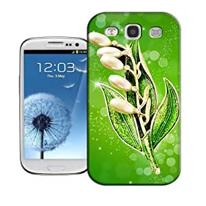 Natalie Works Unique Design Beautiful Green Leaf TPU Hard Cases for Samsung Galaxy S3 Hot Sell Protective Case