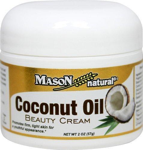 Mason Naturals Coconut Oil Beauty Cream-2 Oz Cream by Mason Vitamins