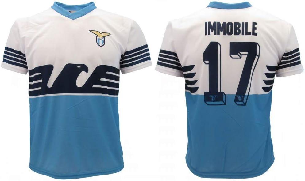Camiseta oficial de la temporada 2018 y 2019, réplica autorizada Ciro Número 17 SS Aquila Home: Amazon.es: Deportes y aire libre