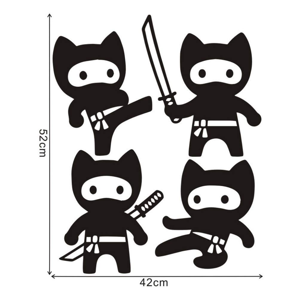 LovelyHomeWJ Personaje de Dibujos Animados Pegatinas de ...