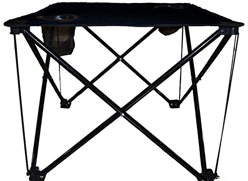 APAK Good's Jet Black Folding Table