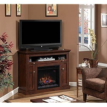 Amazon.com: ClassicFlame 23DE9047-PC81 Windsor TV Stand for TVs up ...