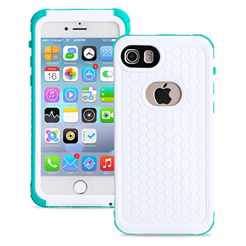 - toyeahcase Waterproof Case for iphone 7 2016/iphone 8 2017, untra thin, shock proof, (version: 4.7 inches) Merit IP68 Standard Protection Dirt-poof Snow-proof and Waterproof Case (Blue)