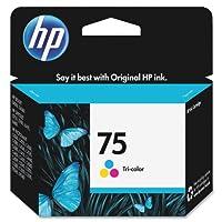 HP 75 Tri-color Original Ink Cartridge (CB337WN) by Hewlett Packard