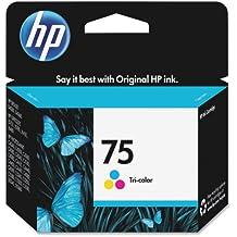 HP 75 Tri-Color Original Ink Cartridge For HP Deskjet D4260, D4360, HP Officejet J5740, J5750, J5780, J5788, J6450, J6480, HP Officejet J5788, J6480, HP PhotoSmart C4210, C4240, C4250, C4280, C4285, C4342, C4344, C4345, C4380, C4382, C4384, C4385…