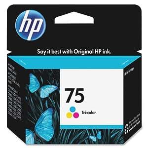 HP 75 Tri-color Original Ink Cartridge (CB337WN)