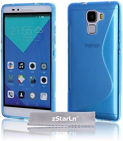 zStarLn? Funda Honor 7 - azul Cubierta de silicona Carcasa para ...
