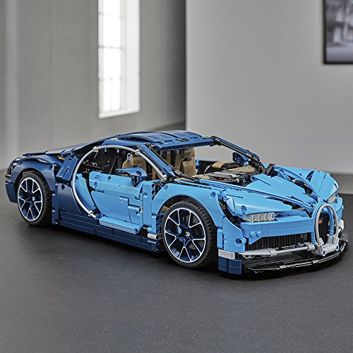 512tEwuzEvL - LEGO Technic Bugatti Chiron 42083 Race Car Building Kit and Engineering Toy, Adult Collectible Sports Car with Scale Model Engine (3599 Piece)