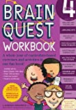 img - for Brain Quest Grade 4 Workbook [With Over 150 Stickers and Mini-Card Deck and Fold-Out