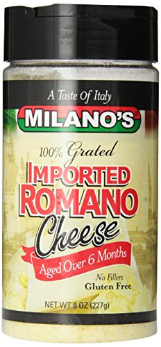 Milano's Romano Cheese Jars