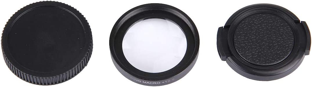 Lens Filter JUNESTAR Proffesional 37mm 12.5X Macro Lens Filter Lens Protective Cap for GoPro /& Xiaomi Xiaoyi Yi Sport Action Camera Camere Accessories