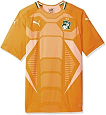 1412f2054 PUMA Men s Fif Ivory Coast Replica Jersey