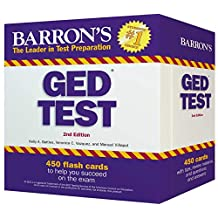 Barron's GED Test Flash Cards: 450 Flash Cards to Help You Achieve a Higher Score