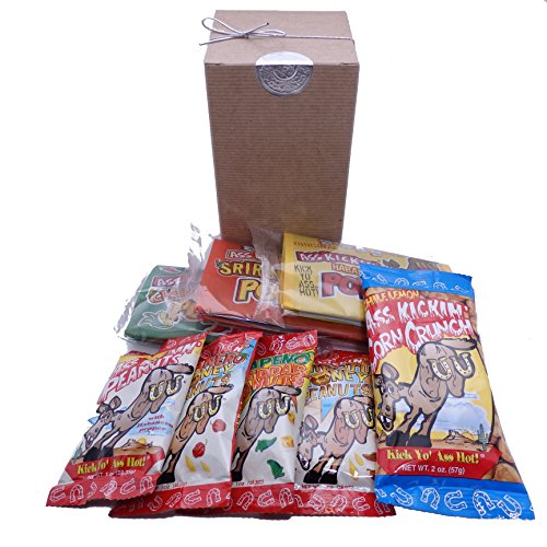 (Spicy Hot Gourmet Snack Gift Box)