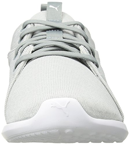 8 US PUMA Carson M Men's Quarry Sneaker White 2 rYAfqwY8