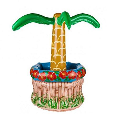 Eurowebb enfriador de bebidas hinchable en forma de palmera ...
