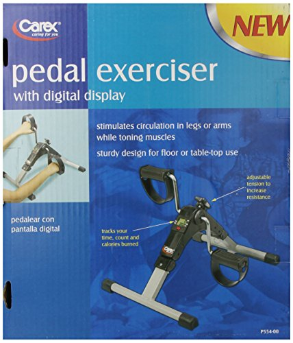 Carex Health Brands Carex Pedal Exerciser with Digital Display by Carex Health Brands (Image #1)