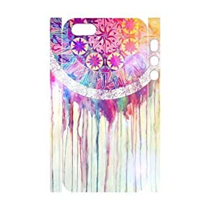 3D Dream Catcher Pattern Plastic Case for Iphone 5 & 5s