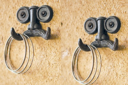 Groucho Glasses Mustache Hanging Antique product image
