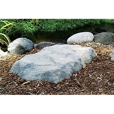 Airmax CrystalClear TrueRock Flat Cover Rock, Large, Greystone, 42 x 36 x 5 … : Pond Equipment : Garden & Outdoor