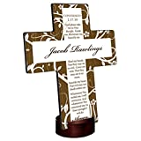 Personalized Tree of Life Cross - Confirmation Prayer