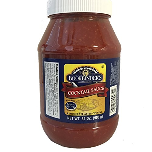 The Old Original Bookbinder's Restaurant Style Cocktail Sauce - 32 oz