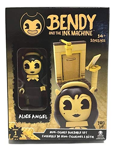 Basic Fun Bendy and The Ink Machine - Alice Angel Buildable Mini-Figure Set (20 Pieces)