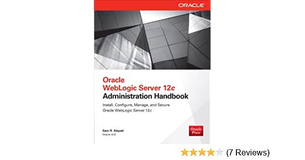 Oracle Weblogic Server 12c Administration Handbook Ebook