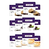 LA Weight Loss Bars - Chocolate Peanut Butter, Chocolate Mint, Cappuccino - 12 Boxes