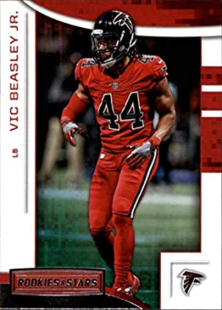 baad3d9df 2018 Panini Rookies and Stars  100 Vic Beasley Jr. Atlanta Falcons NFL  Football Trading