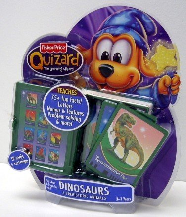 Prehistoric Animals Card - Fisher-Price QuizardTM Prehistoric Animals Card Pack